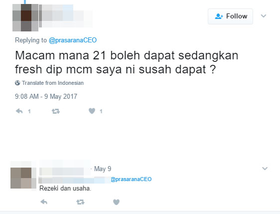 Prasarana Ceo Tweets About The Youngest Lrt Captain Gets Mean Comments World Of Buzz 3 1