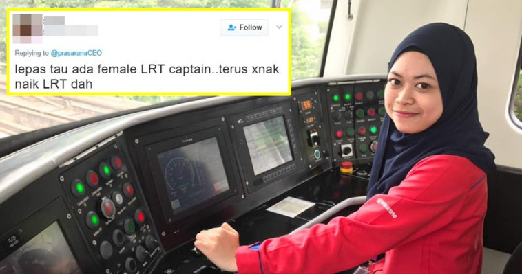 Prasarana Ceo Tweets Inspiring Story Of Youngest Lrt Captain Gets Mean Comments World Of Buzz 2 1