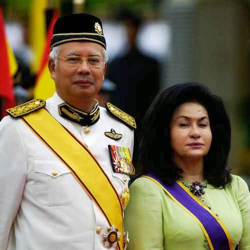 Najib Rosmah 1