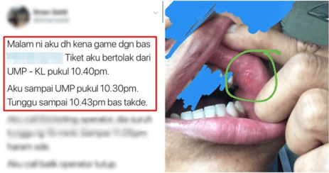 Screenshot 2018 12 01 Dahlah Kena Game Dengan Bas Ekspres Lepas Tu Kena Tumbuk Pulak