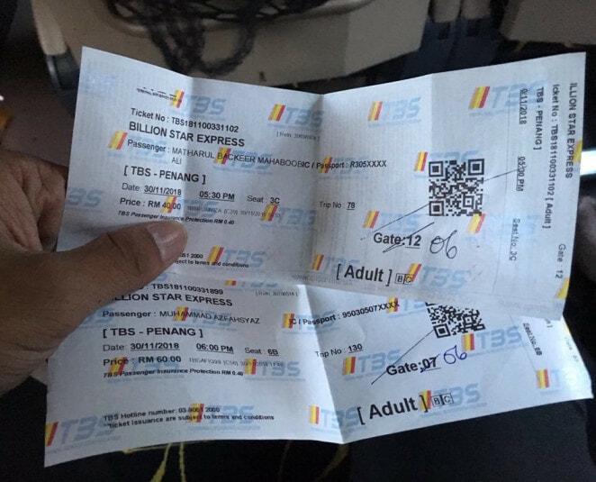 Tiket Bas 4