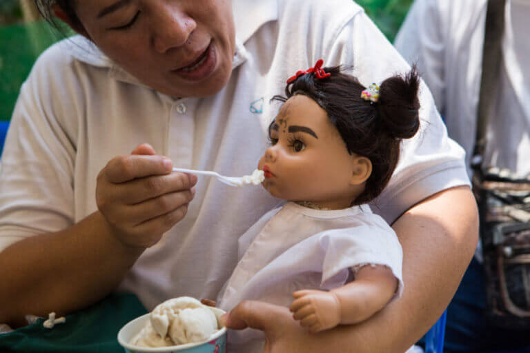 Netizens Claim More Malaysians Are Adopting Thai Child God Dolls Possessed By Spirits For Luck Wealth World Of Buzz