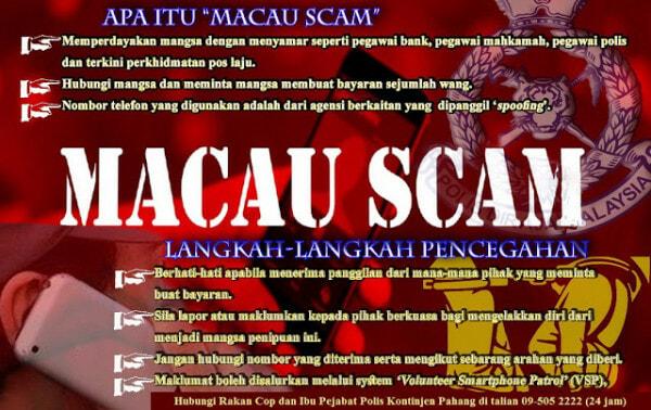 Macau Scam