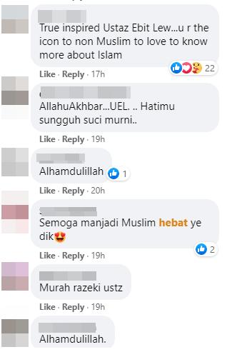 Fb Komen Ustaz