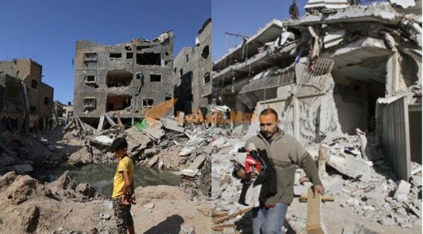 Ambil Masa 3 Tahun Bina Rumah Lelaki Palestin Ini Bertukar Jadi Kawah Besar Lepas Dibedil Israel 2 E1622953162753
