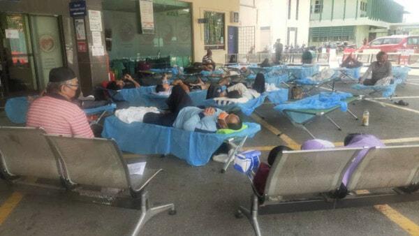 Tengku Ampuan Rahimah Hospital Covid 07072021
