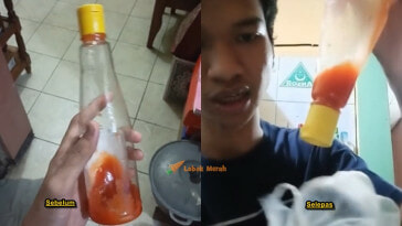 F 3 Botol Sos