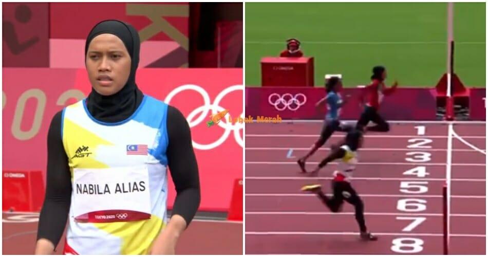 Ft Azreen Nabila Pecah Rekod Peribadi Olimpik
