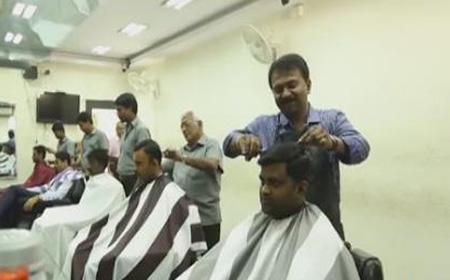 Billionaire Barber Ramesh Babu Bangalore
