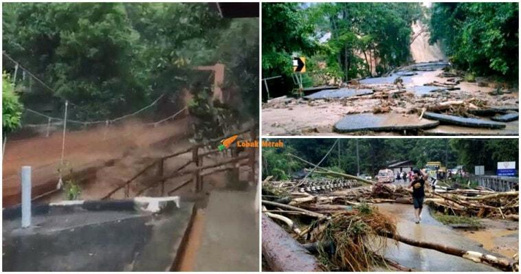 Fenomena Kepala Air Tanah Runtuh Titi Hayun Kedah