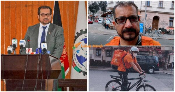 Ft Bekas Menteri Afghanistan Jadi Penghantar Piza E1630314191336