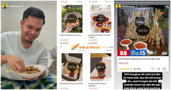 Ft Khairulaming Beli Review Produk Sold Out 1