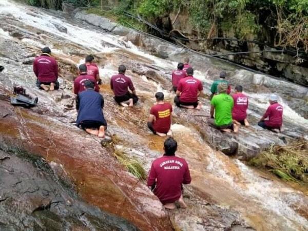 Jemaah Di Sungai Dikecam