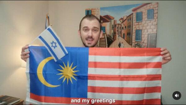 Lelaki Dakwa Malaysia Sokong Israel 1