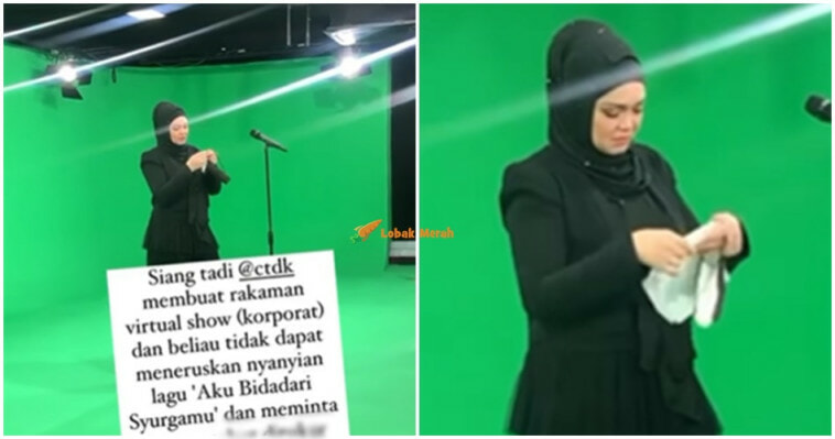 Siti Nurhaliza Sebak Pemergiaan Siti Sarah