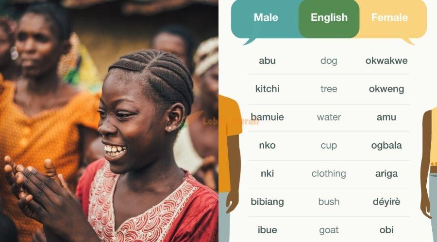 Ubang Kampung Di Nigeria Dimana Lelaki Perempuan Guna Bahasa Berbeza