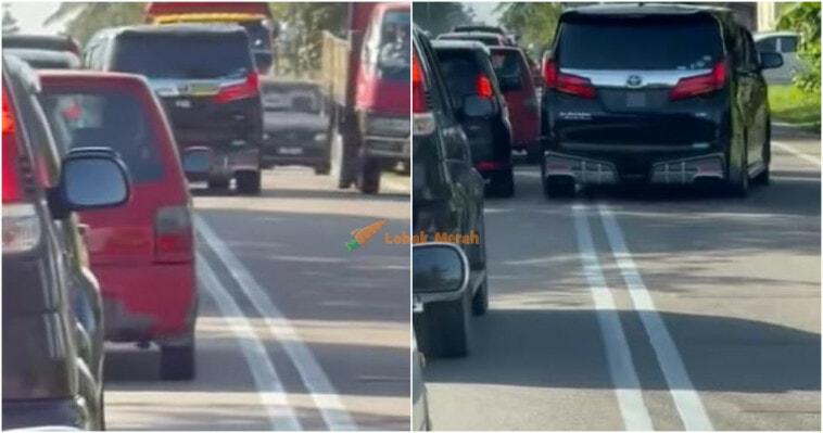 Ft Kereta Timbalan Menteri Pototng Double Line