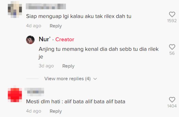 Reak Abang Jt Jumpa Anjing 2 Edit