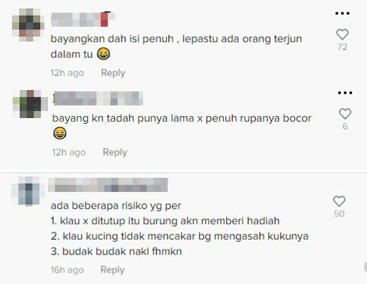 Komen Isi Air Viral Selangor