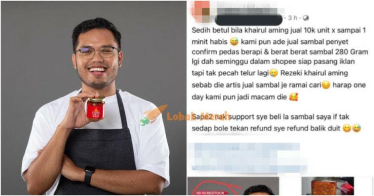 Ft Peniaga Complain Sambal Khairulaming Laku