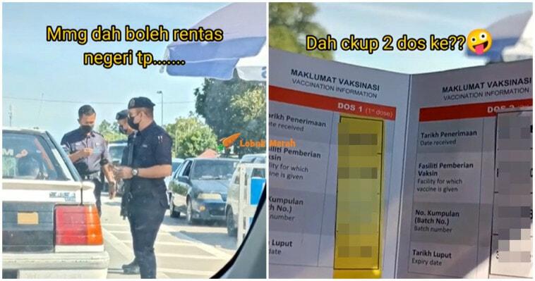 Rentas Negeri Polis Check Kad Vaksin